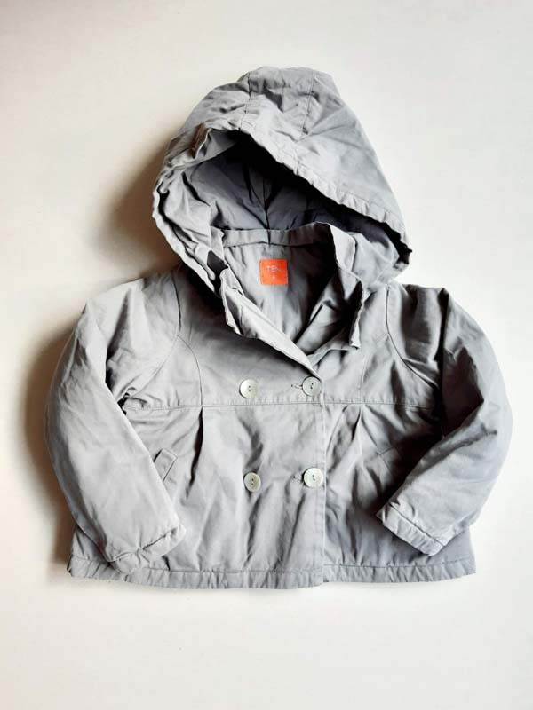 Manteau - TEN - 4 ans - gris