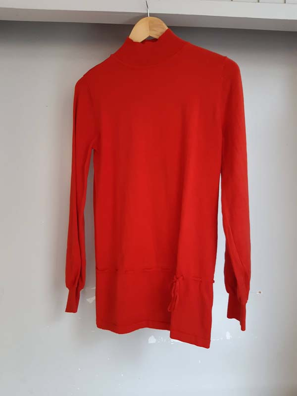 Pull - Fragile - M - rouge