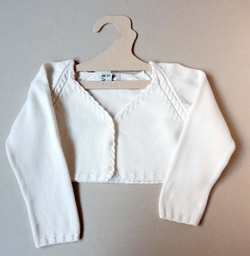 [202007116] Gilet - Neck & Neck Junior - 6 ans - blanc