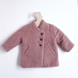 [202010060] Veste - Simple kids - 1 an - rose